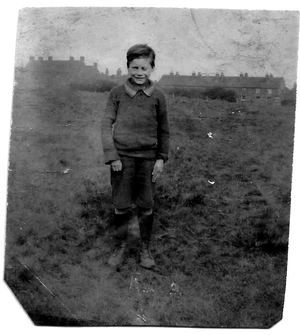 Dad some where in Brownhills around 1922