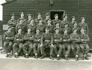 Dec. Raf Bridgenorth. 21 Flight.Front row. 4th from right