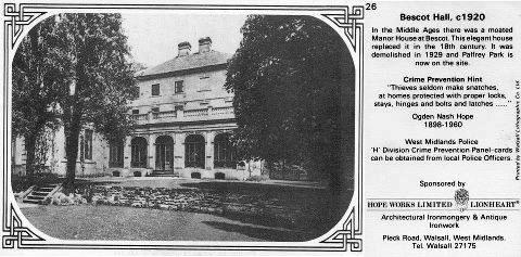 26 Bescot Hall