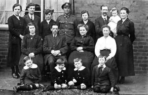 1918. Williams family