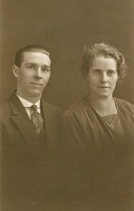 1928. Wilfred Morgan and Emma(Doll) nee Howarth