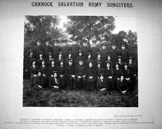Cannock SA       Songsters.            26 July.1922