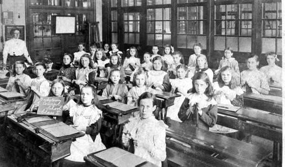 Class 1. Bridgtown School. c1913