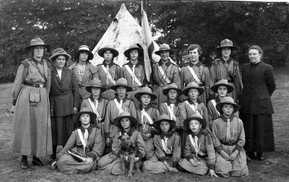 Girl Guides. c1918